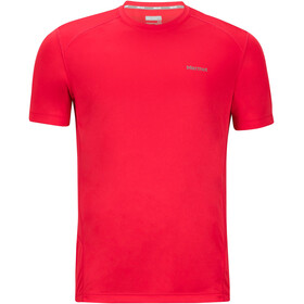 Marmot Windridge Blouse korte mouwen Heren, tomato